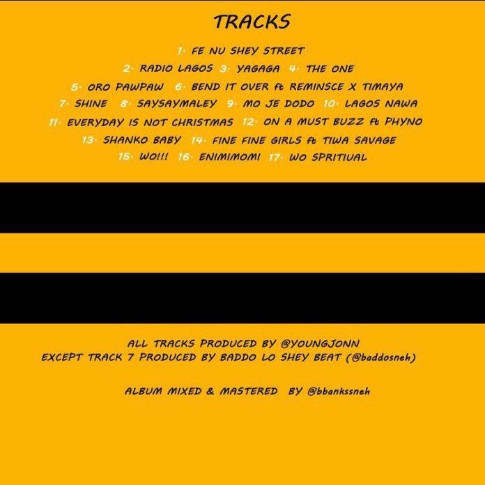 Download Album: Olamide - Lagos Nawa (Wobey Sound)