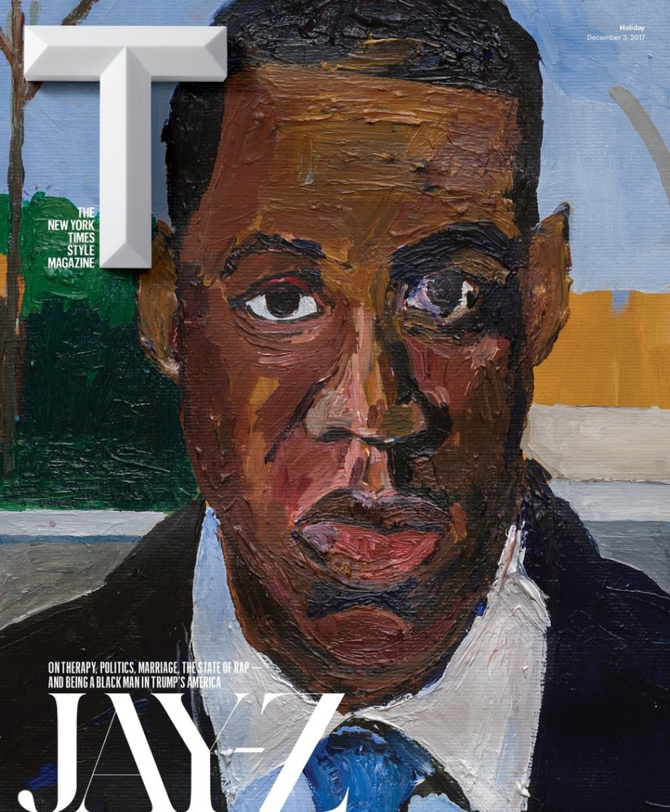 Jay-Z Covers New York Times T's Magazine; Discusses Race, Politics, Therapy, Kanye West & Joint Album with Beyoncé