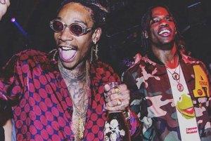 Travi$ Scott's previews unreleased track with Wiz Khalifa
