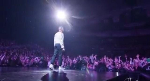 Watch Macklemore Perform at Key Arena Seattle