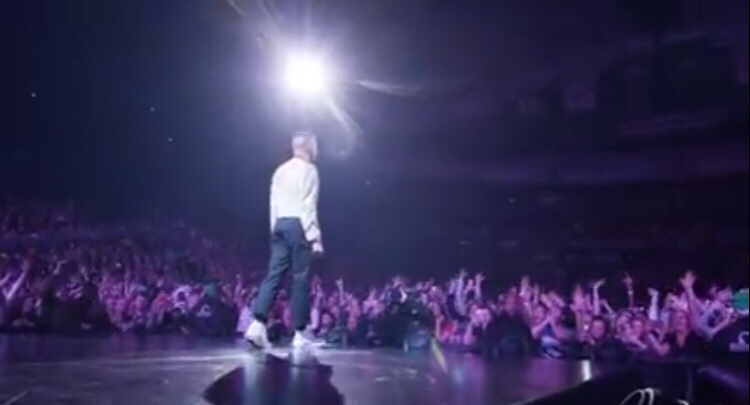 Watch Macklemore Perform at Key Arena Seattle