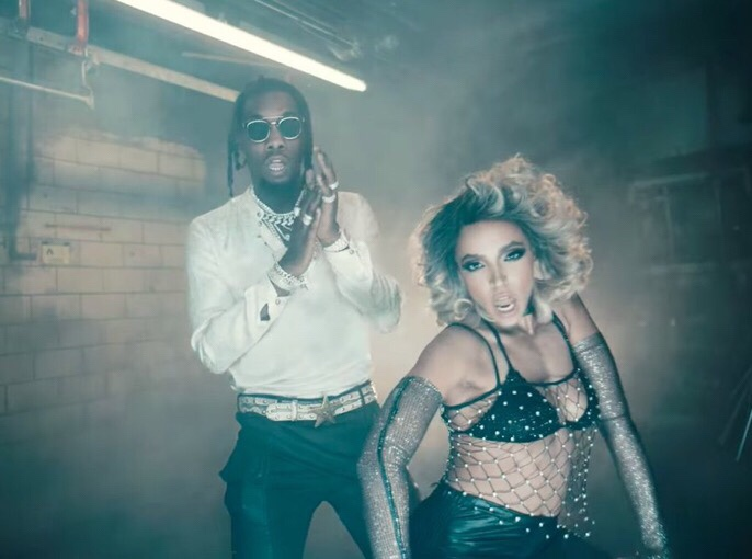 Tinashe feat. Offset - No Drama music video