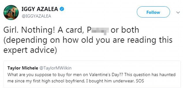 Iggy Azalea Talks New Album; Gives Valentine Gifts Ideas For Her Man