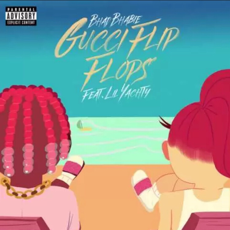 Bhad Bhabie ft Lil Yatchy - Gucci Flip Flops mp3 download
