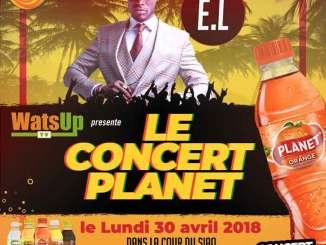"E.L Headlining at WatsUp TV ""Le Concert Planet """