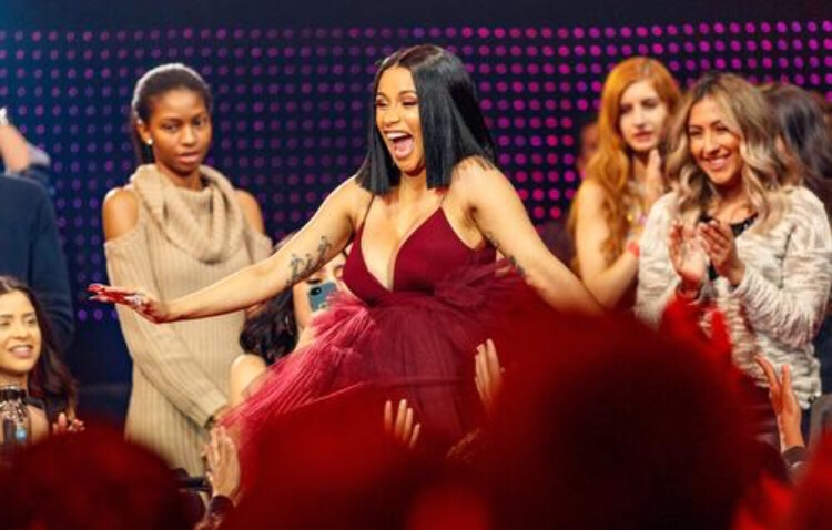 Watch Cardi B Perform Money Bag' on The 'Tonight Show' with Jimmy Fallon