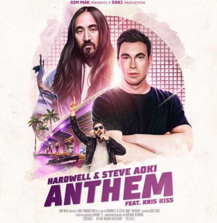 Hardwell & Steve Aoki ft. Kris Kiss - Anthem mp3 download