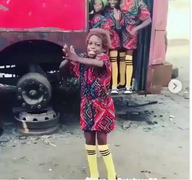 Nigerian Kids Dancing In Lagos Become Internet Sensation (Watch)