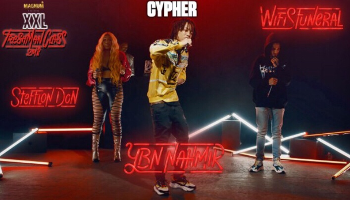 YBN Nahmir, Stefflon Don and Wifisfuneral's 2018 XXL Freshman Cypher (Video)