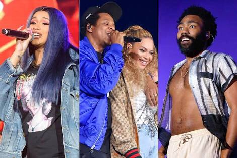 Cardi B, Beyonce, Jay-Z Lead MTV VMA 2018 Nominations