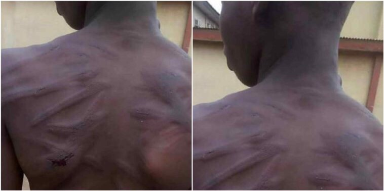 71 year old grandpa brutally assaults grandson for stealing N1000