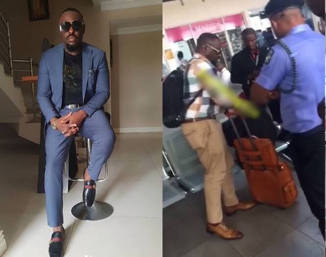 Jim Iyke arrested by Police after he allegedly slapped airline official
