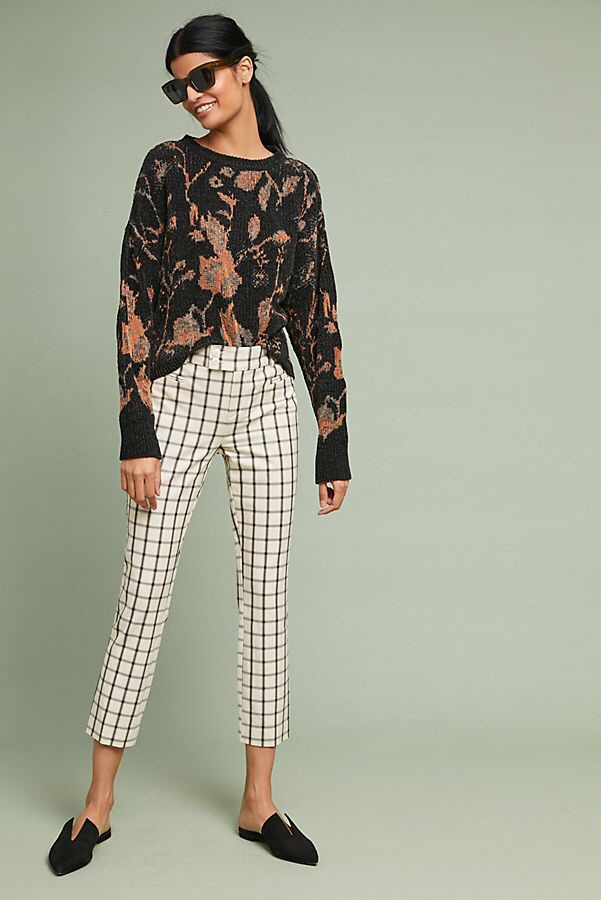 Check These Must-Have Checkered Pants From Anthropologie Off Your Shopping List