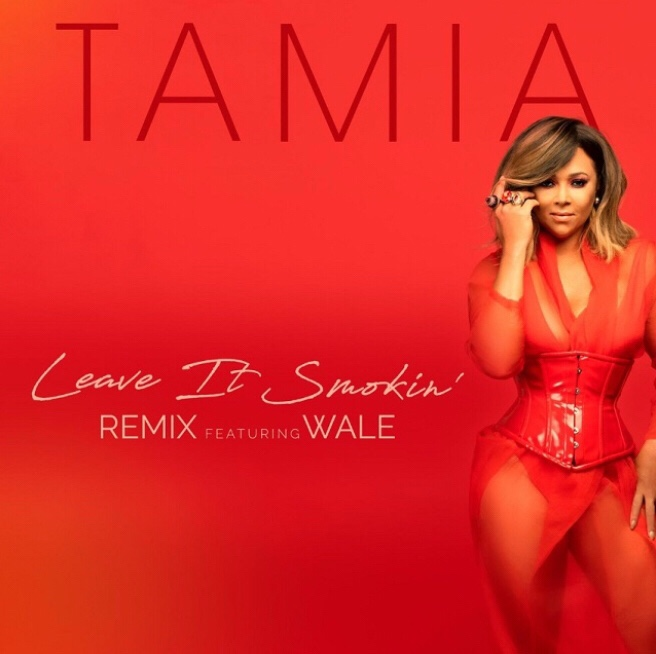 Tamia - Leave It Smokin remix Ft. Wale