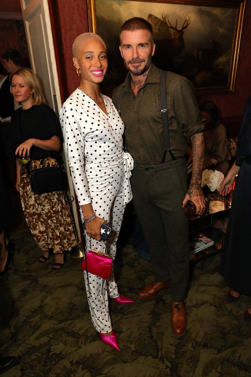 Victoria Beckham Celebrates Her 10th Anniversary With British Vogue