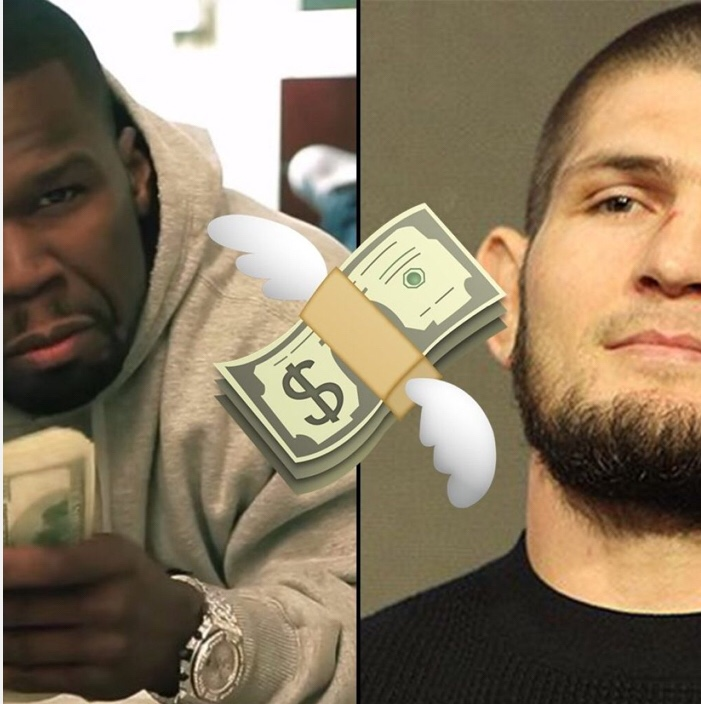 50 Cent Has Offered Khabib Nurmagomedov $2 Million dollars to leave UFC for Bellator