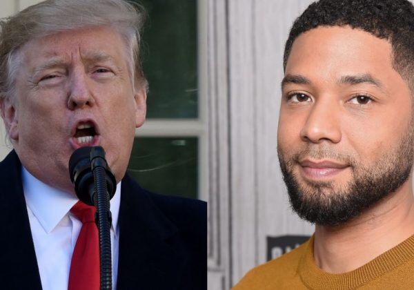 President Donald Trump clowns Jussie Smollett for getting arrested after falsely blaming MAGA supporters for attack