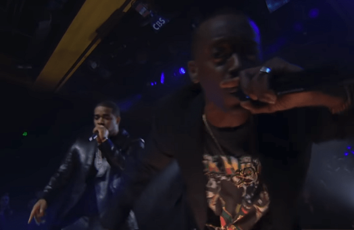 """Buddy & A$AP Ferg Perform """"Black"""" On The Late Late Show"""