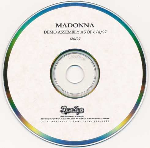 Madonna – Demo Assembly As Of 6-4-97 (Album download)