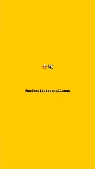BEYONCÉ POSTS #BEFOREILETGO CHALLENGE