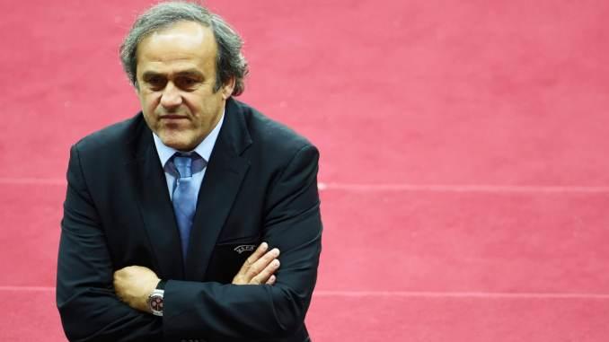 Former UEFA President Michel Platini