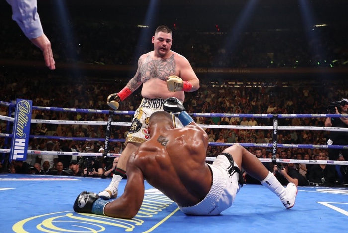 Andy Ruiz Jr Knocks Out Anthony Joshua