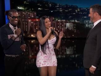 "Cardi B & Offset Explain The Lyrics To ""Clout"" On Jimmy Kimmel"