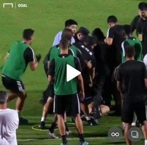Cristiano Ronaldo Hits Police Official As Fan Invades Juventus Training (Photos)