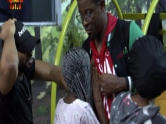 Diane Sucks Seyi's Nipples; Mercy Grabs Ike & Omashola's Dicks
