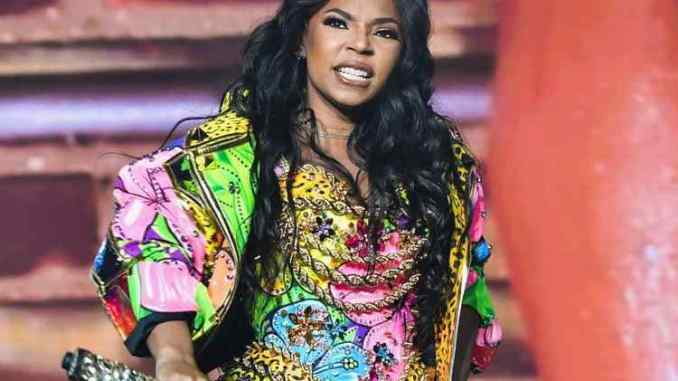 Ashanti Touches Male Fan By The Crotch At A Show