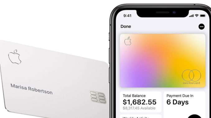 The Credit Card of the Future - Apple's new credit card for iPhone owners
