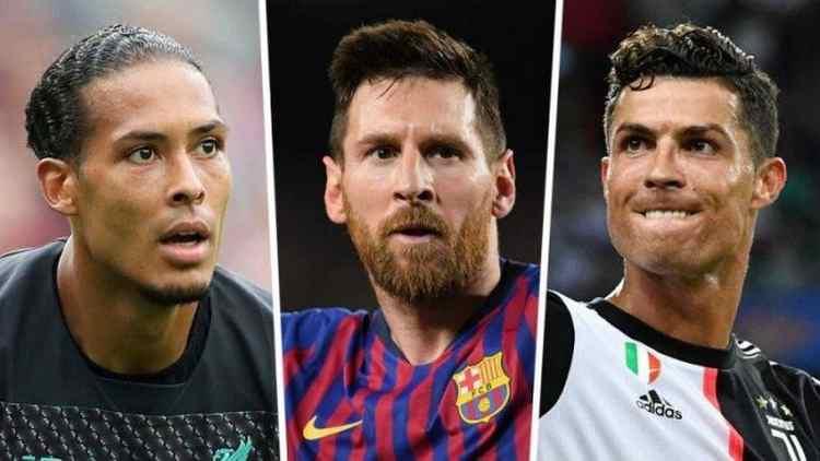 Messi, van Dijk & Ronaldo Nominated In Final 3 For FIFA Best Player Award
