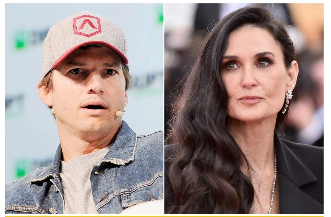 Demi Moore regrets having threesomes with Ashton Kutcher in new book