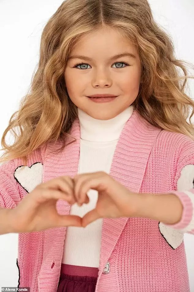 Russian Child Model Tagged The Most Beautiful Girl In The World