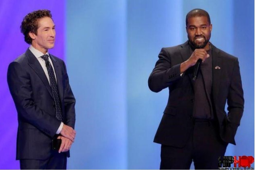 Kanye West tells Joel Osteen worshippers to be quiet, that he is the greatest artist GOD made
