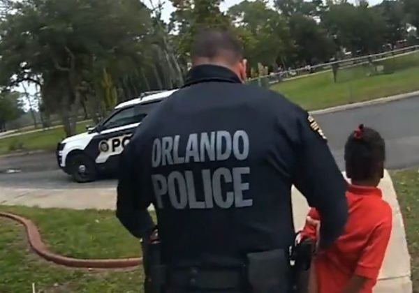 Video of 6yr old handcuffed By police in Orlando released