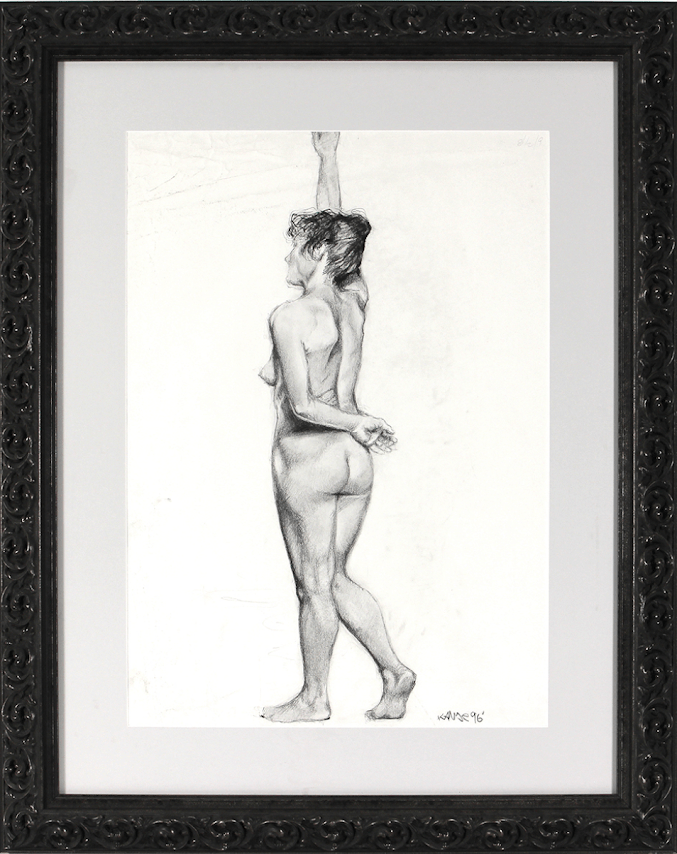 Kanye West's Hand-Drawn Nude Sketch, Tupac's Contract, & More Being Auctioned