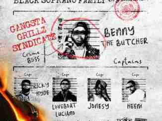 Benny the Butcher x DJ Drama - 'Black Soprano Family' Album (download)