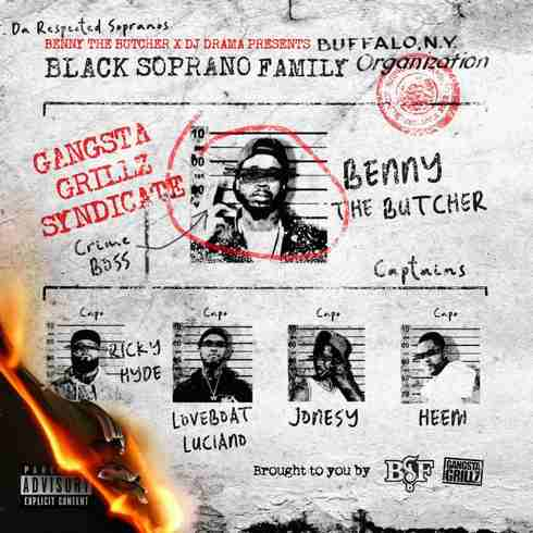 Benny the Butcher x DJ Drama - 'Black Soprano Family' Album (download)