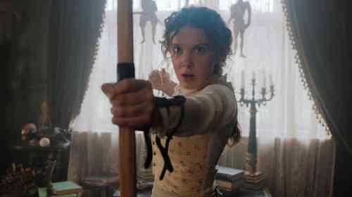 Millie Bobby Brown Stars As Sherlock's Sister in Netflix's Enola Holmes Movie