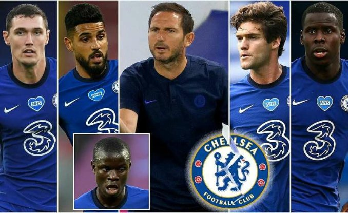 Frank Lampard puts 4 defenders for sale with N'Golo Kante also available