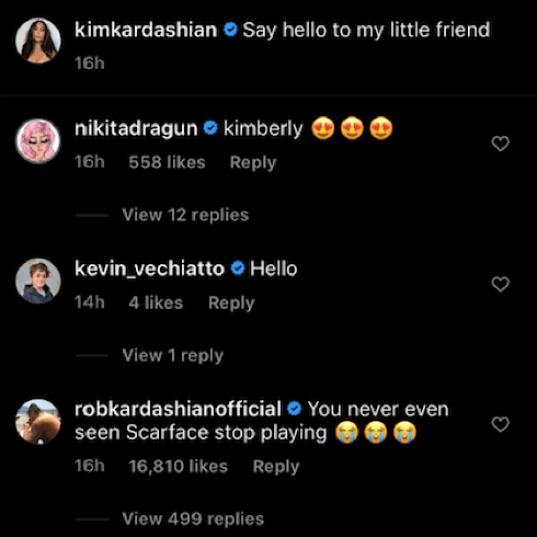 Rob Kardashian Is Calling Out Kim On Instagram