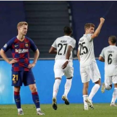 Bayern Munich Defeated Barcelona 8-2