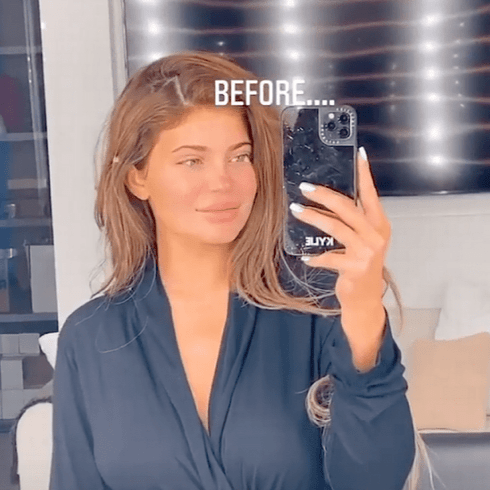 Kylie Jenner Has Shown Off Her Gorgeous Natural Face In A Very Rare Make-Up Free Social Media Post
