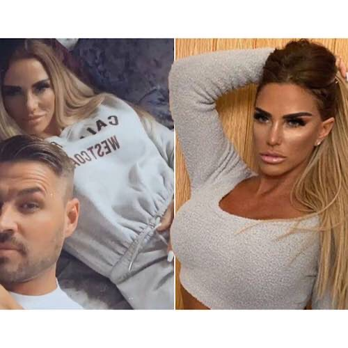 Katie Price Cosies Up To Boyfriend Carl In Rare Snap After Quitting Social Media