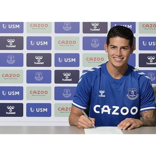 James Rodriguez Signs For Everton In Exchange Of A Big Transfer
