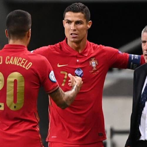 Bruno Fernandes Praised Cristiano Ronaldo After His Brace For Portugal