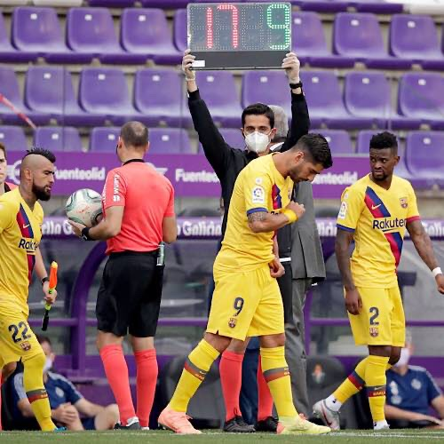 Five Substitutions In La Liga Matches Will Continue This Season