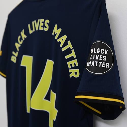 Black Lives Matter Logo To Be Replaced On Premier League Shirts