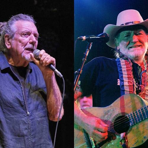 Robert Plant Says Willie Nelson Gives Away Free Weed From His Tour Bus